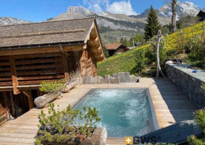 Spa inox Chalet